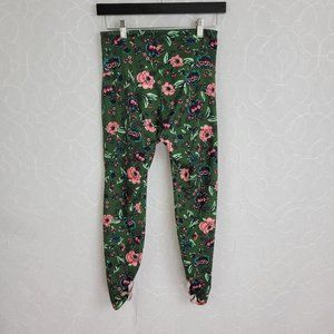 Old Navy Active Go Dry Floral Leggings Sz. S/P
